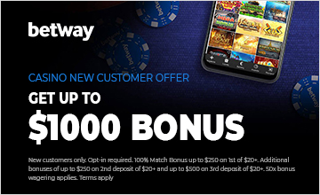 Betway - Get Your Casino Bonus Now!