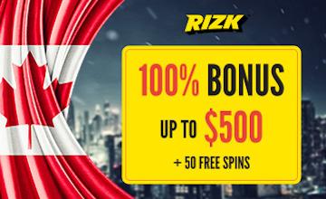 Rizk - Get Your Casino Bonus Now!