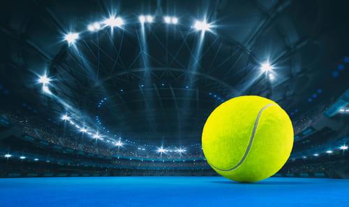 Tennis betting strategy stadium and ball