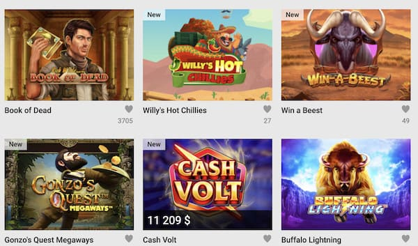 Unibet Bonus Review casino screen