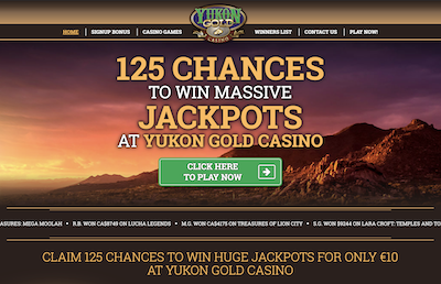 Yukon Gold Casino Pro and Con