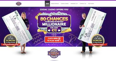 Zodiac Casino Pro and Con