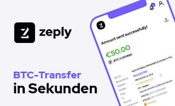 Zeply - Jetzt Bitcoins kaufen!