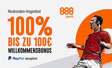 888 - Hol dir jetzt den Bonus!