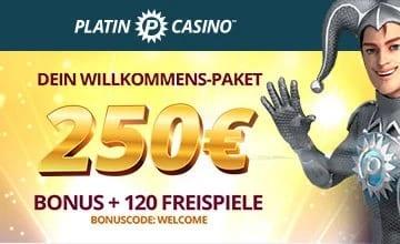 Platin Casino - Jetzt zu Platin Slot und Bonus erhalten!