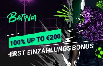 Betinia Sport Bonus