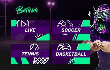 Betinia Sport Angebot