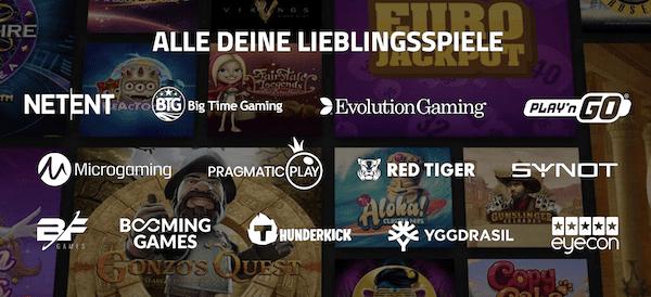 Casino JEFE Softwareanbieter