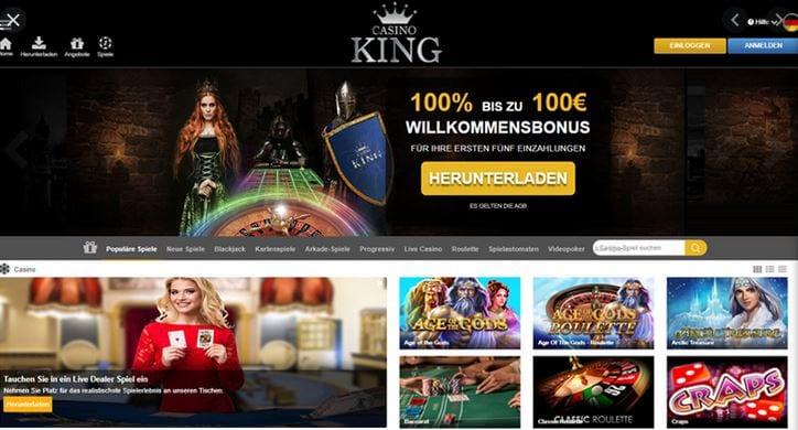 casino king test