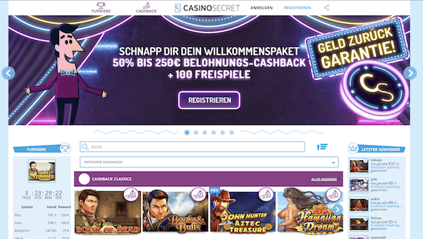Casino Secret Pros und Contras