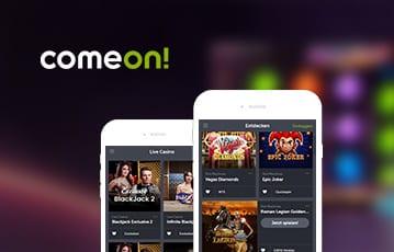 ComeOn Casino mobil
