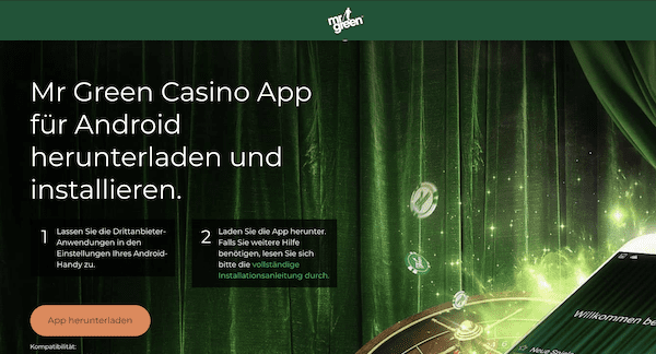 Mr Green App Android