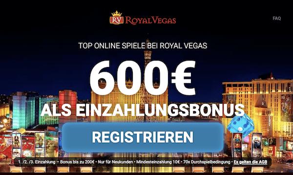 Royal Vegas Erfahrungen und Test