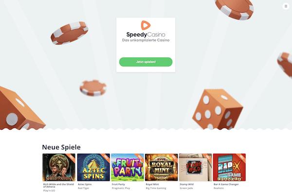 Speedy Casino Pros und Contras