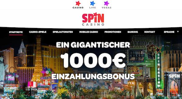 spin casino bewertung