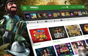 Unibet Casino Spiele