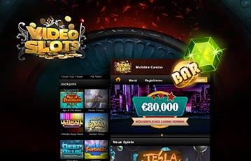Videoslots Casino Mobil