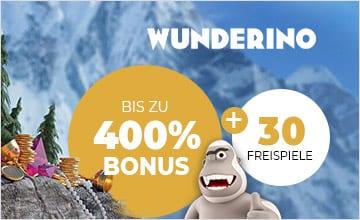 Wunderino - Jetzt zu Wunderino und Bonus erhalten!