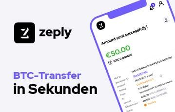 zeply Bitcoin Transfer