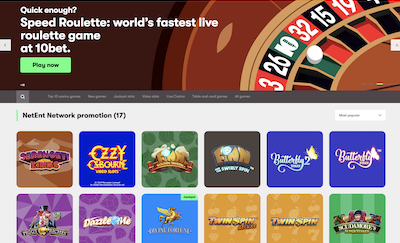 10bet Casino Review India