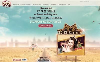 777 Casino Review India