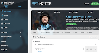 Betvictor Pro and Con