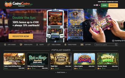 CasinoCasino.com Pro and Con