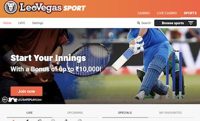 LeoVegas Sportsbook Review India