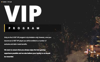 LVBet Casino VIP Program India