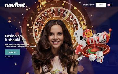 Novibet Online Casino India