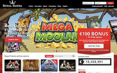 Royal Panda Casino Review India