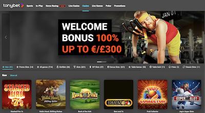 Tonybet Online Casino India