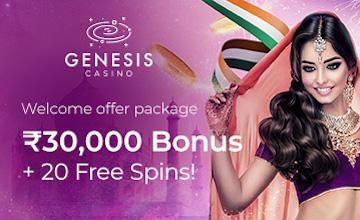 Genesis Casino - Get Your Bonus Now!