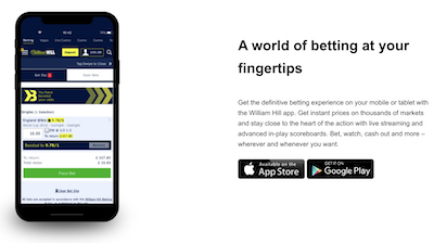 William hill review india