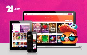 21.com カジノアプリ