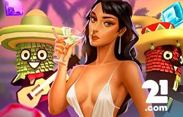21.com カジノゲーム