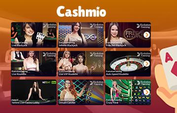 カシュミオ ライブカジノ