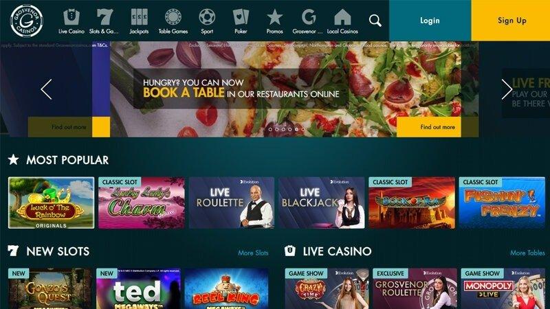 grosvenor casino review