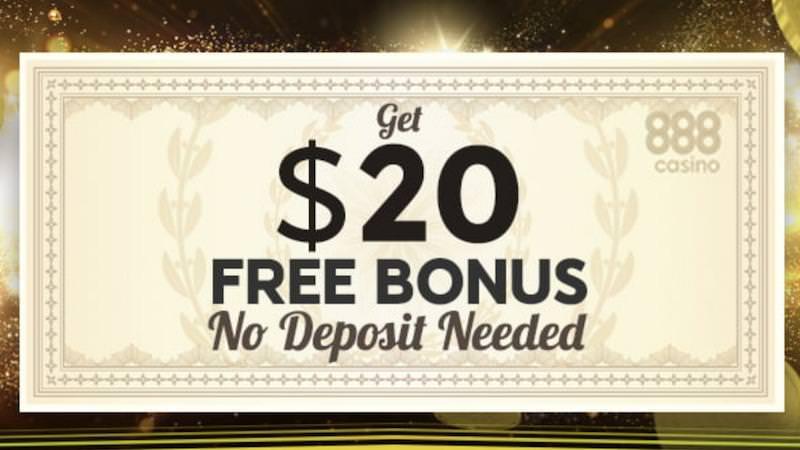 888casin No Deposit Bonus