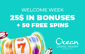 Ocean Reosrt Casino promotions