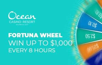 Ocean Resort Casino review Fortuna wheel
