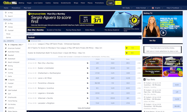 William Hill Sportsbook Review USA